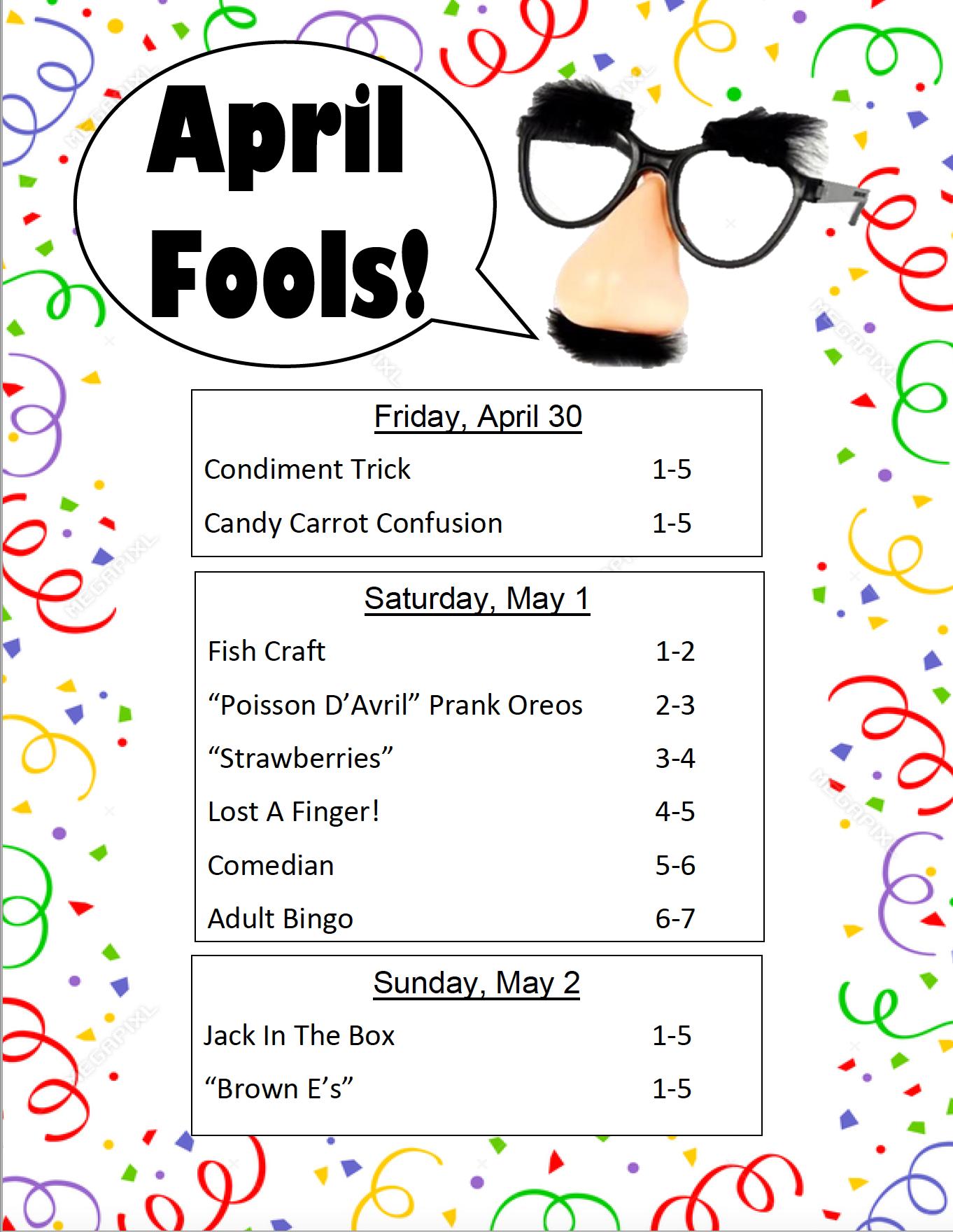 April Fools VOR 2021