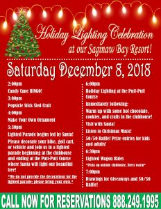 Holiday Lighting Celebration Flyer