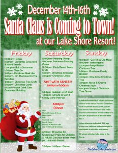 Lake Shore Santa is coming to town