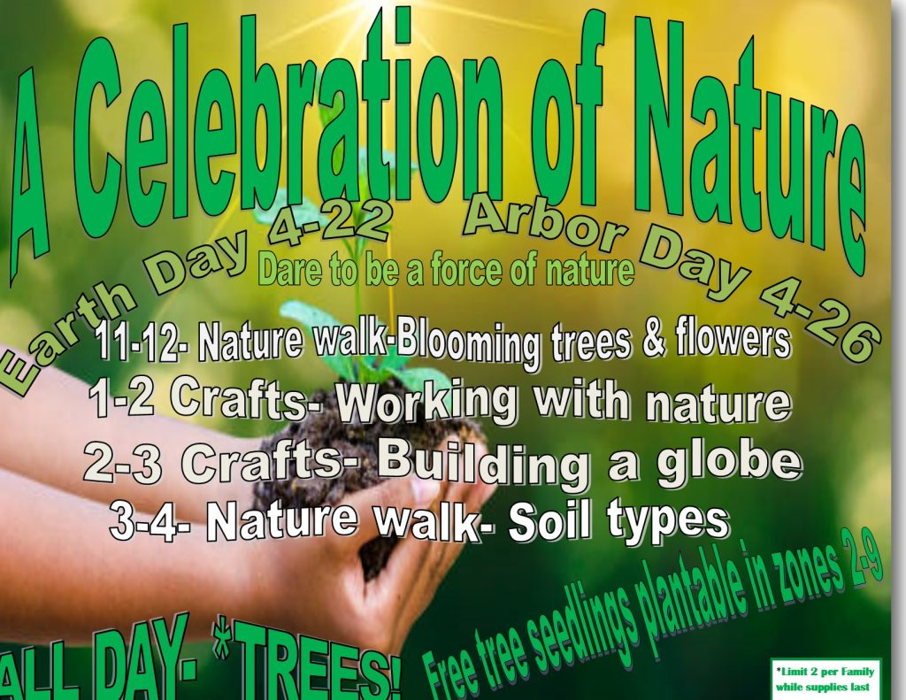 earth day arbor day 2019